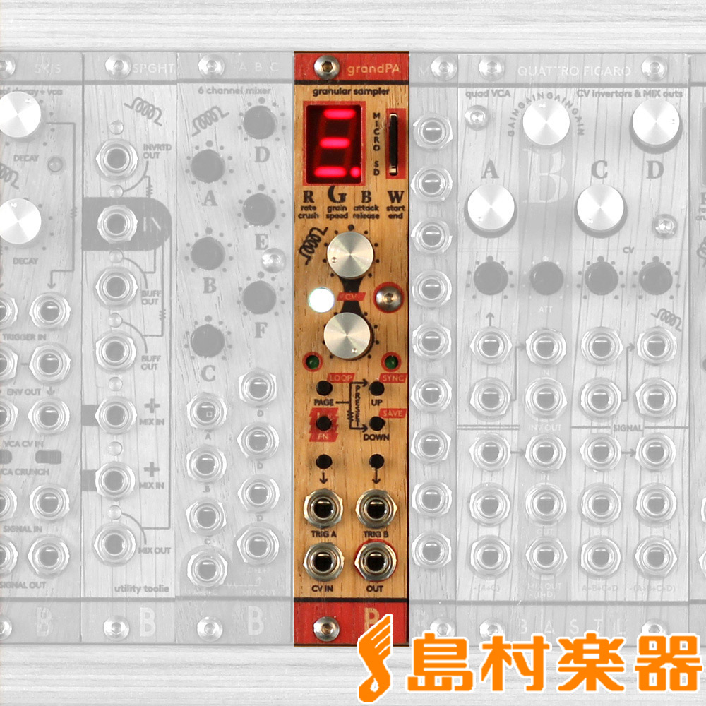 Bastl Instruments GRAND PA モジュラーシンセサイザー 【バストルインストゥルメンツ】