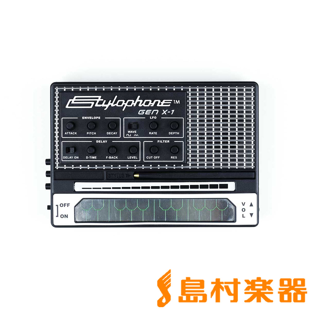 dubreq STYLOPHONE GEN X-1 ポータブルアナログシンセサイザー 【ダブレック】
