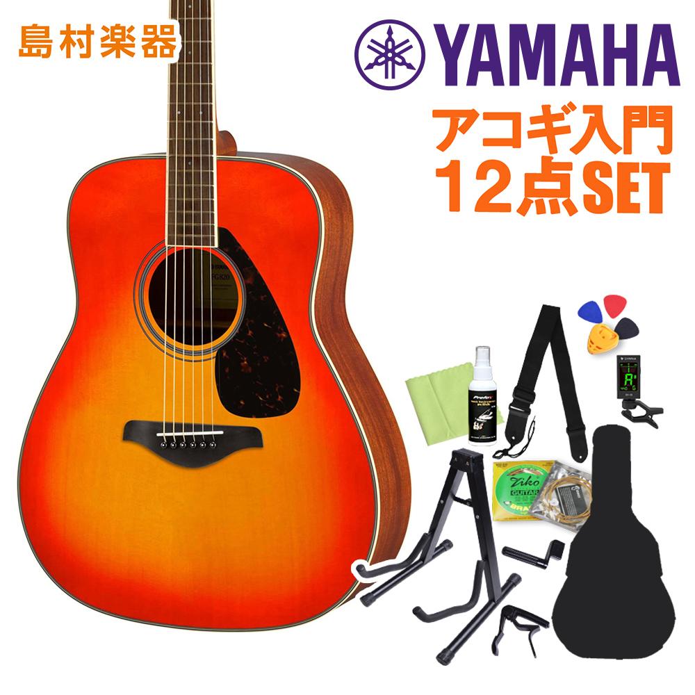 YAMAHA FG820 AB アコースティックギター初心者12点セット アコースティックギター 【ヤマハ】【オンラインストア限定】