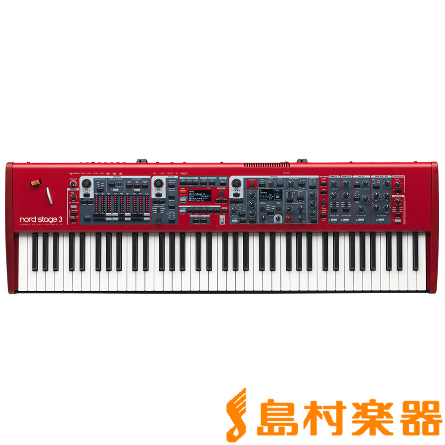 NORD STAGE3 HP76 76鍵盤 シンセサイザー 【ノード】