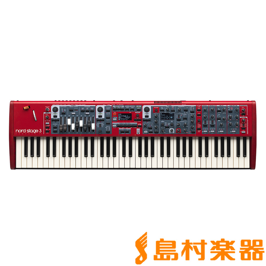 NORD STAGE3 COMPACT 73鍵盤 シンセサイザー 【ノード】