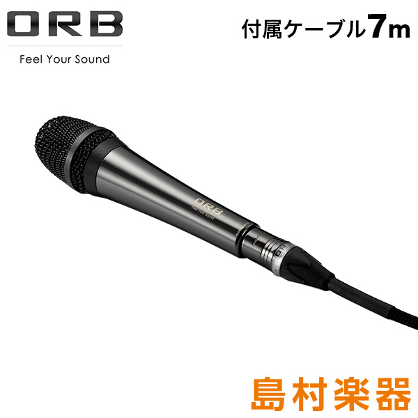 ORB Audio Clear Force Microphone the finest for acoustic ダイナミックマイク [付属ケーブル 7m] 【オーブオーディオ CF-A7F J10-7M】