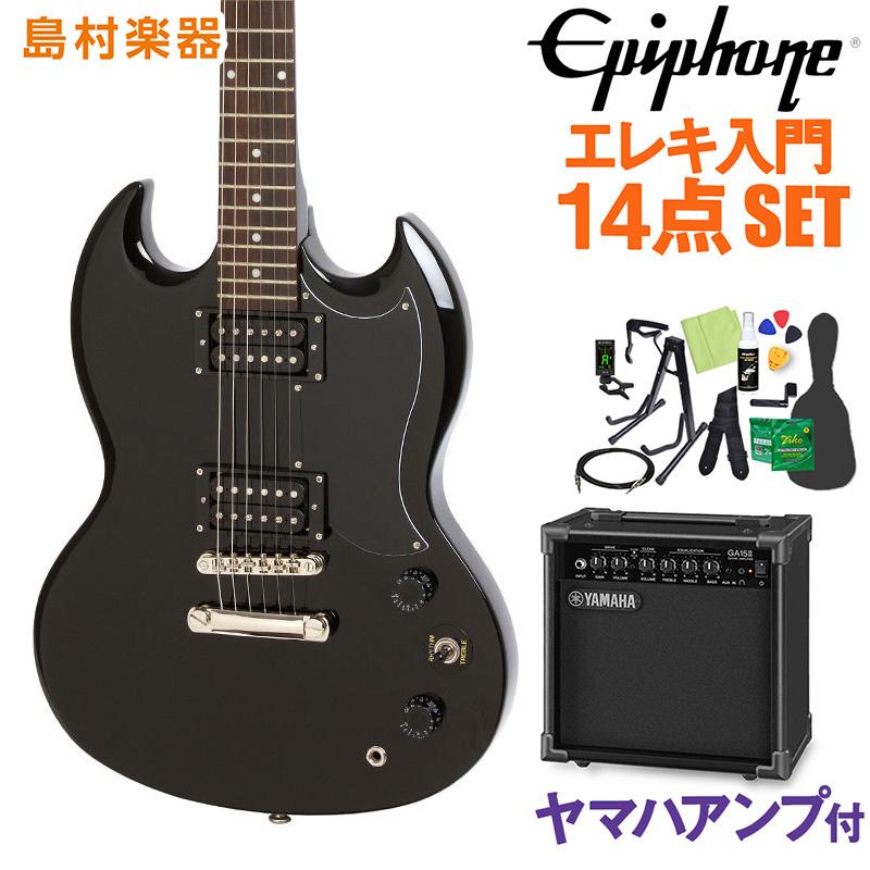 【限定価格セール!】 Epiphone SG Special Ebony Special SG エレキギター 初心者14点セット【ヤマハアンプ付き】 SGスペシャル Ebony【エピフォン】【オンラインストア限定】, 佐用町:13ddae54 --- sukhwaniconstructions.com
