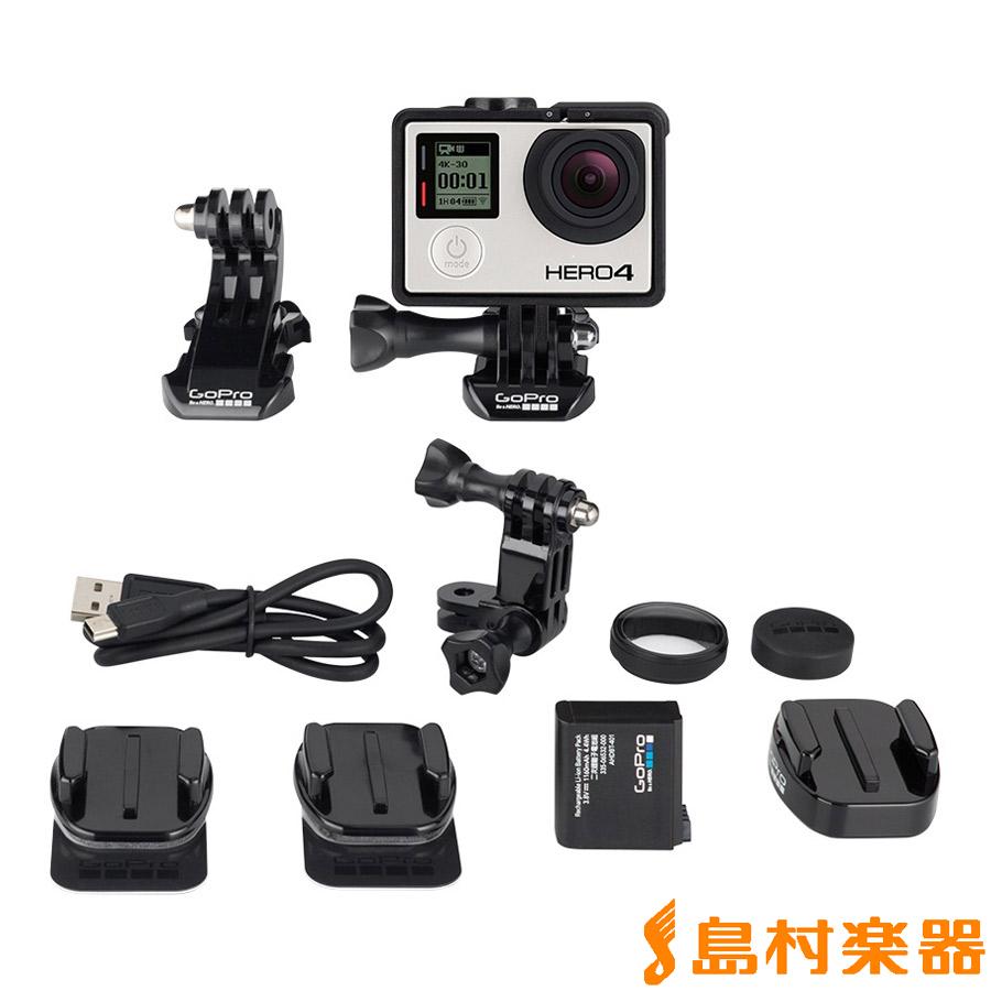 GoPro CHDBX-401-JP HERO4 BLACK / MUSIC カメラセット 【ゴープロ CHDBX401JP】