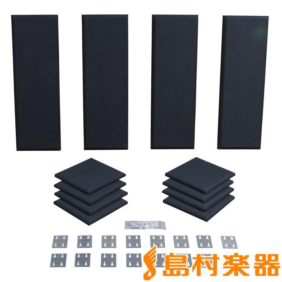 Primacoustic LONDON 8 (ブラック) 吸音パネルセット [約4.9畳]対応 【プライマコースティック London Room Kit】