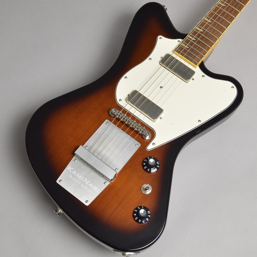 KAMINARI GUITARS×HISTORY KH-CYGNET Volcano Burst エレキギター 【カミナリギター×ヒストリー】【梅田ロフト店】