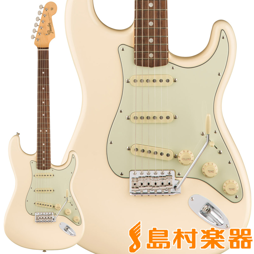 Fender American Original '60s Stratocaster Olympic White ストラトキャスター 【フェンダー】