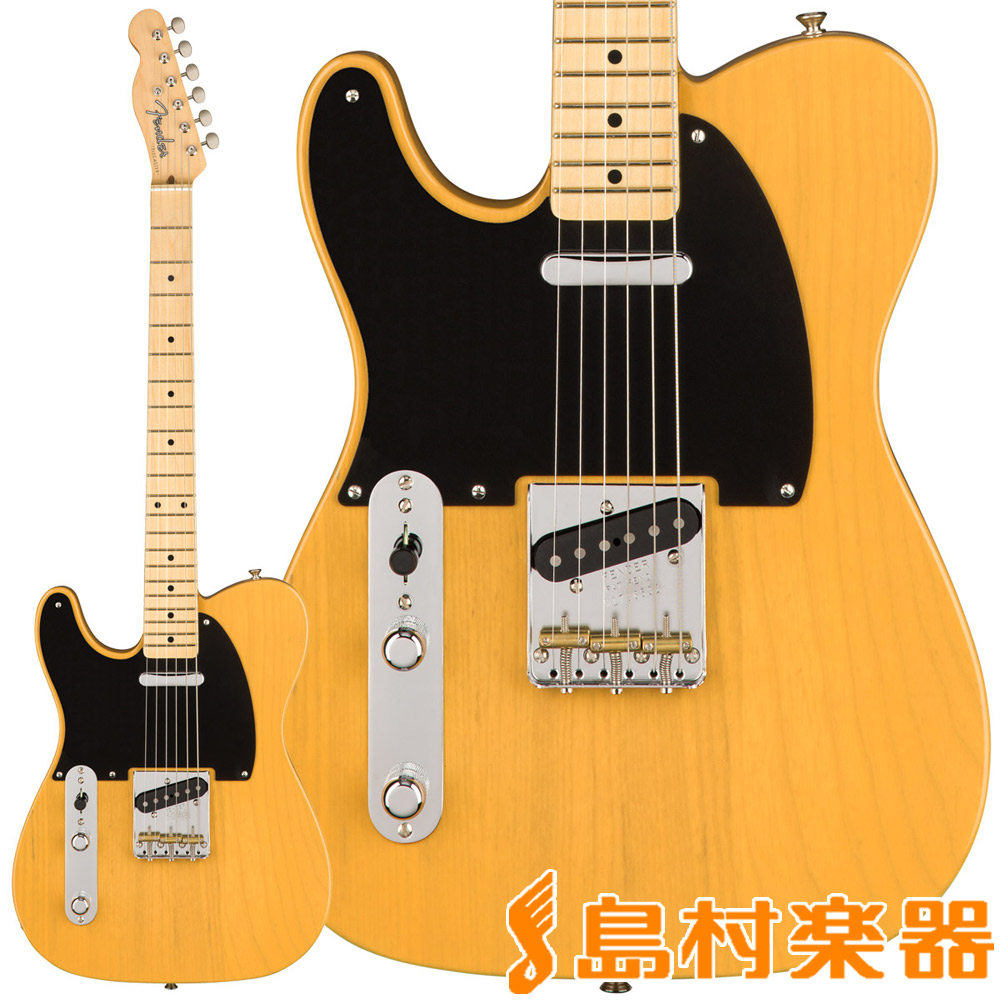 Fender American Original '50s Telecaster Left Handed Butterscotch Blonde テレキャスター 【フェンダー】【レフティ】