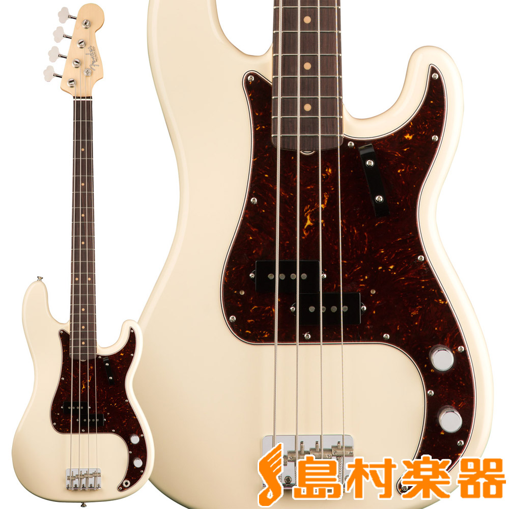 Fender American Original '60s Precision Bass Olympic White プレシジョンベース 【フェンダー】