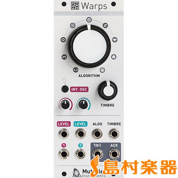 【送料0円】 mutable mutable instruments Warps Warps メタモジュレーター instruments【ミュータブル】, ウイズユー:9f74d649 --- clftranspo.dominiotemporario.com