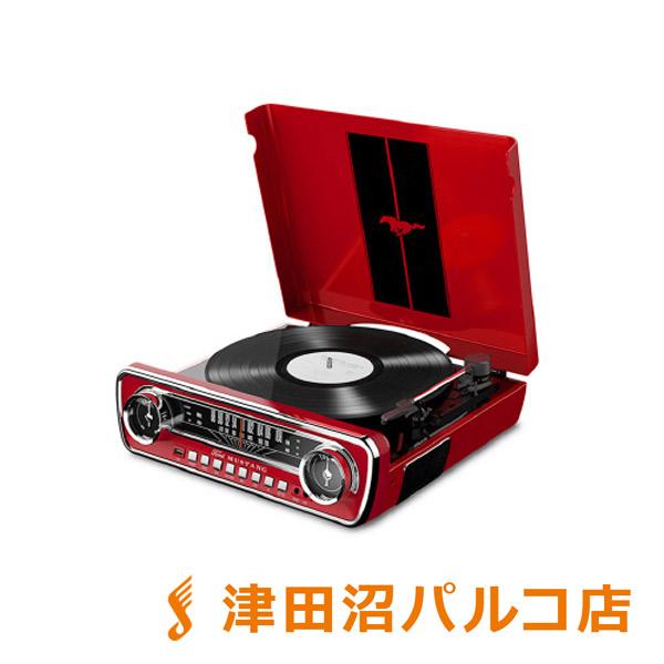 ION AUDIO Mustang LP RED(レッド) USBレコードプレーヤー 【アイオンオーディオ】【津田沼パルコ店】