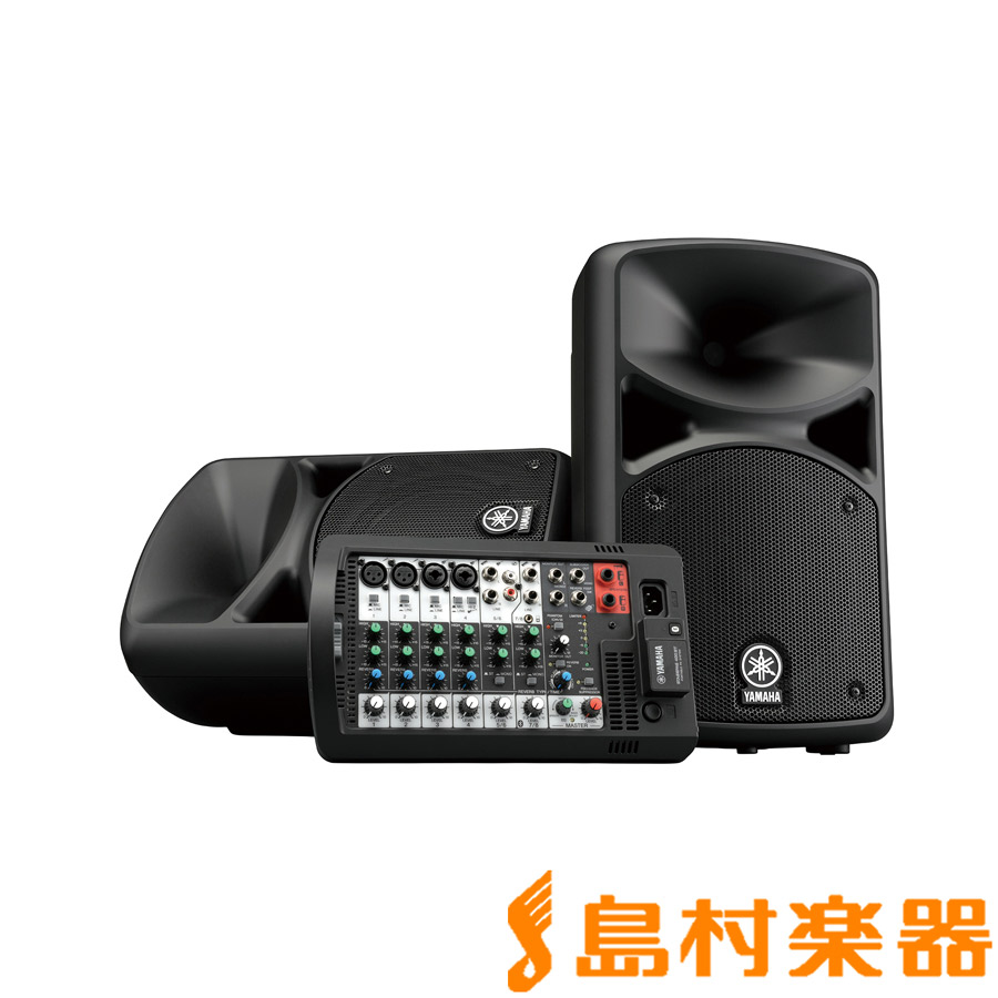 YAMAHA STAGEPAS400BT オールインワン 商品追加値下げ在庫復活 PAシステム ヤマハ Bluetooth対応 レビューを書けば送料当店負担
