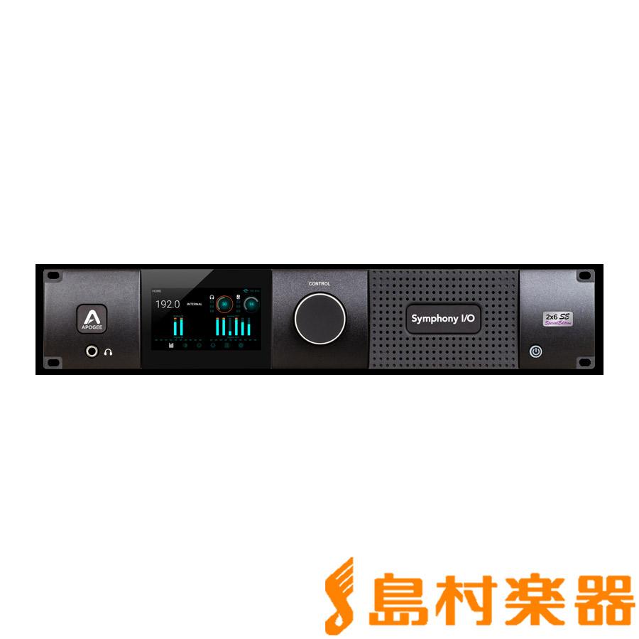 【有名人芸能人】 Apogee Symphony I/O MKII Symphony Chassis with 2×6 SE MKII【アポジー (Special Edition) [ Thunderbolt ] モジュール オーディオインターフェイス【アポジー SYM22X6SE】, アクアビーチ:f4dc0385 --- canoncity.azurewebsites.net
