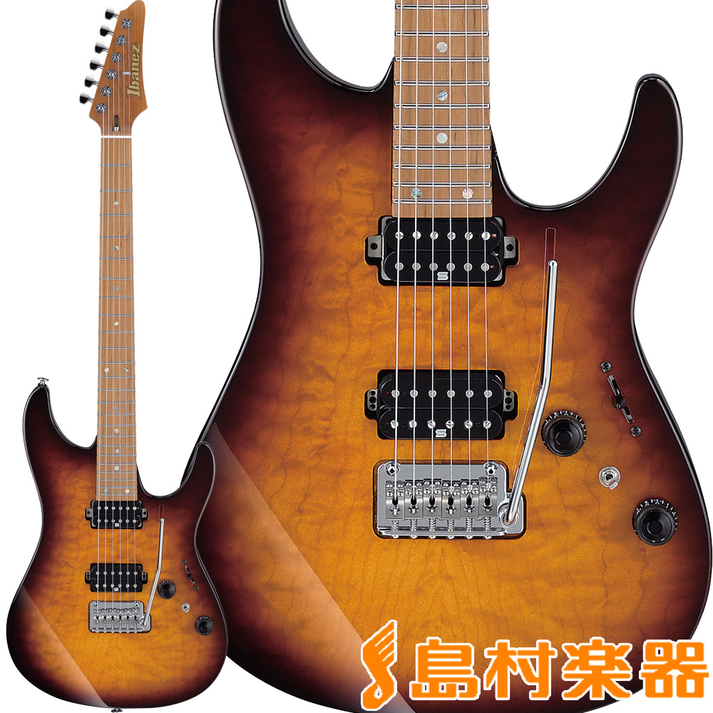Ibanez AZ2402Q Regal Brown Burst エレキギター AZシリーズ 【アイバニーズ AZ2402Q-RBB】