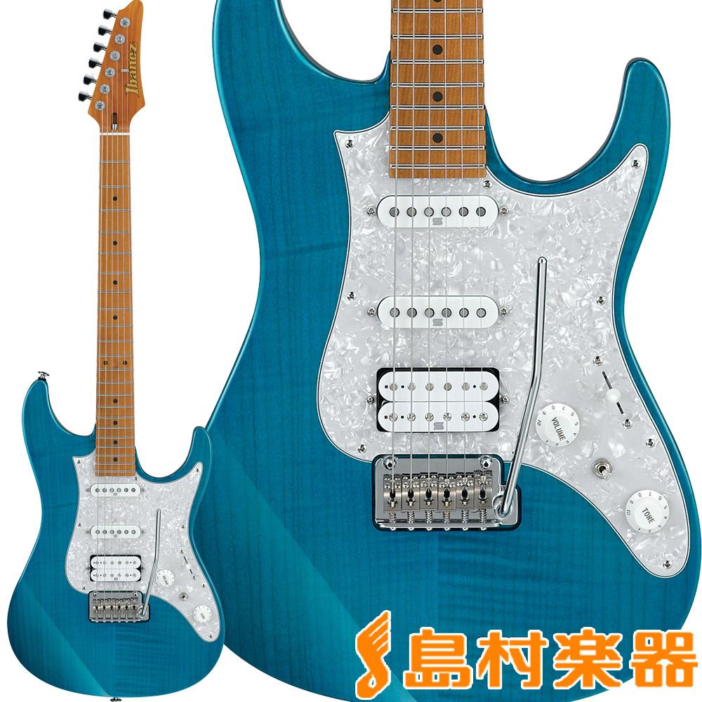 Ibanez AZ2204F Transparent Aqua Blue エレキギター AZシリーズ 【アイバニーズ AZ2204F-TAB】