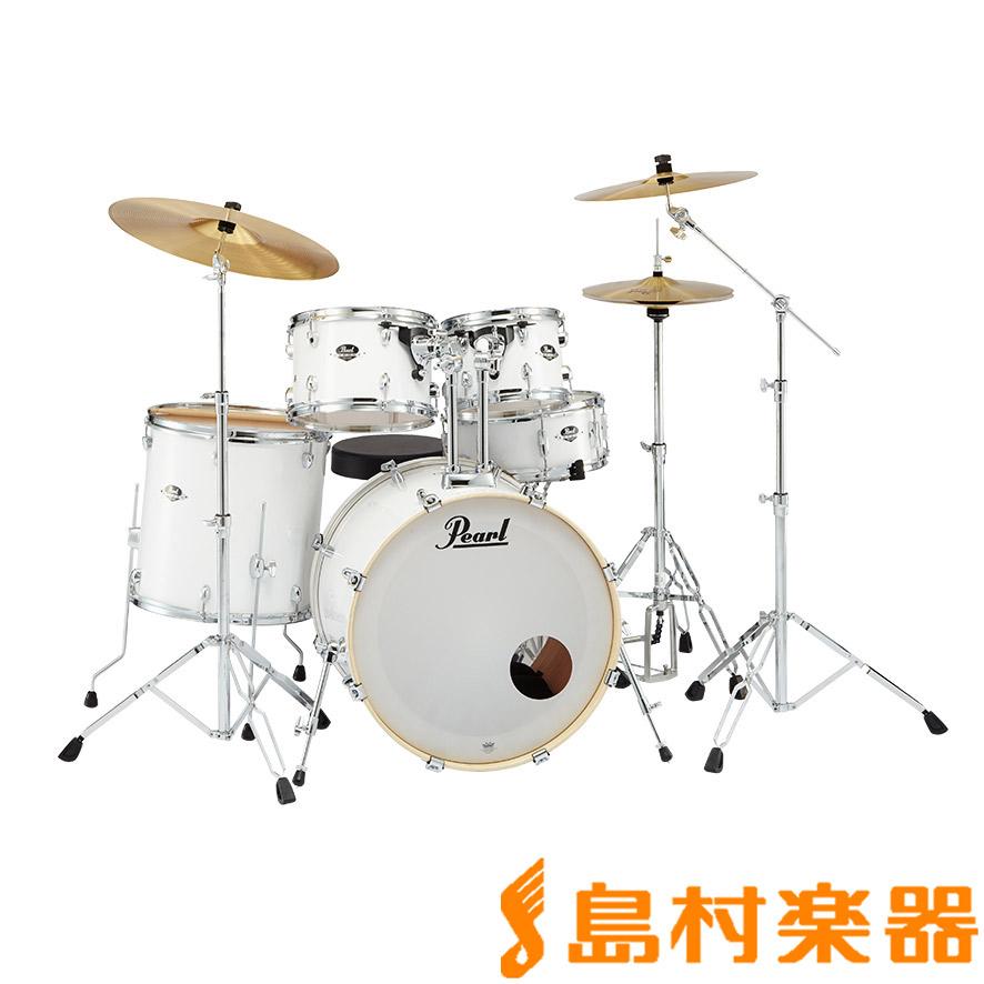 Pearl EXPORT EXX725S/C #33 Pure White シンバル付きドラムセット スタンダードサイズ 【パール】【フルセット】