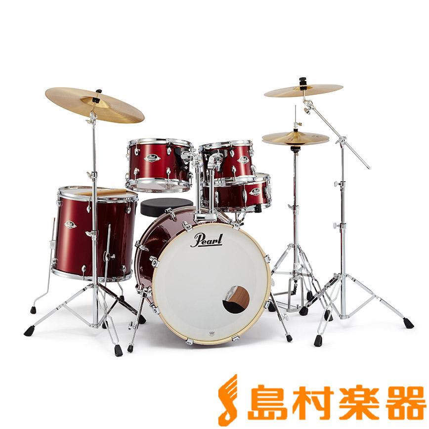 Pearl EXPORT EXX725S/C #760 Burgundy シンバル付きドラムセット スタンダードサイズ 【パール EXPORTシリーズ】【フルセット】