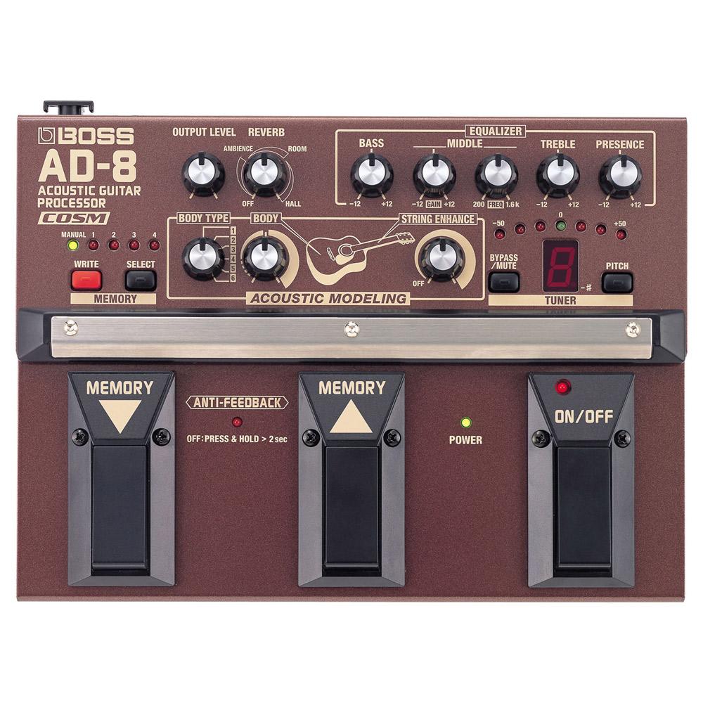 BOSS AD-8 アコースティックギタープロセッサー エフェクター 【ボス】【梅田ロフト店】