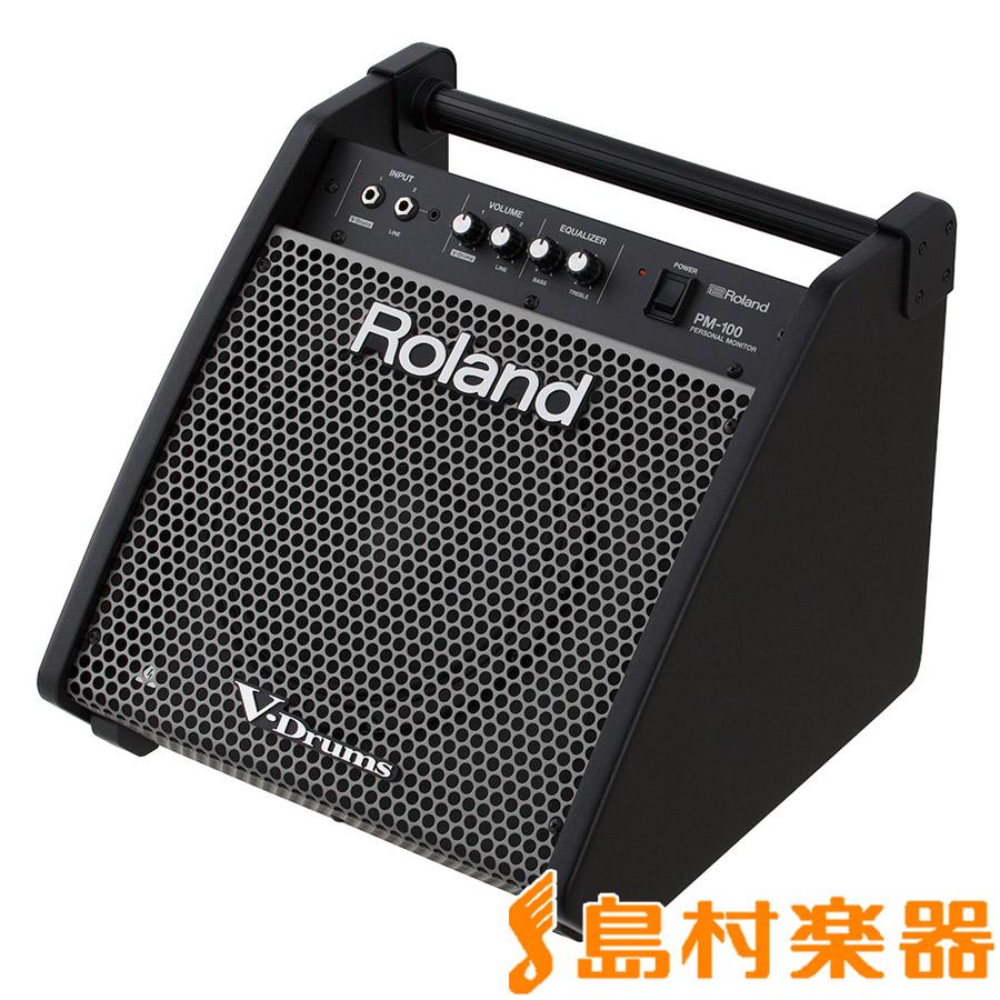 Roland Personal Monitor PM-100 パワードモニターアンプ [ V-Drums / 電子パーカッション ]専用 【ローランド PM100】