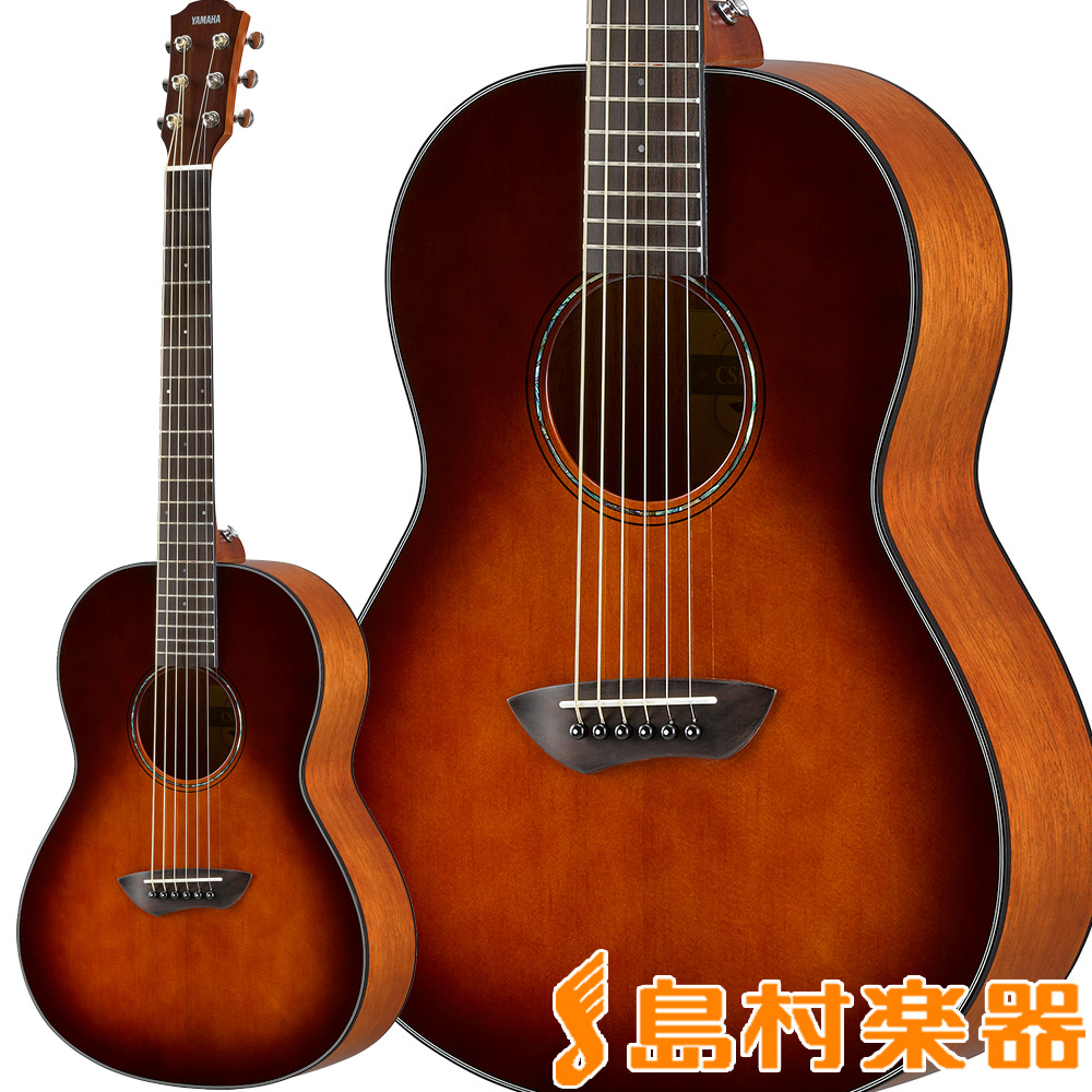 YAMAHA CSF-1M Tobacco Brown Sunburst アコースティックギター スモールサイズ 【ヤマハ CSF1M TBS】