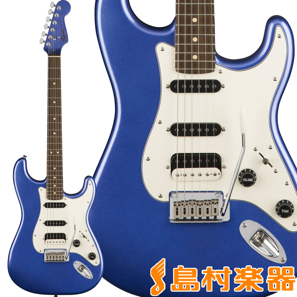 Squier by Fender Contemporary Stratocaster HSS, Rosewood Fingerboard, Ocean Blue Metallic ストラトキャスター エレキギター 【スクワイヤー / スクワイア】