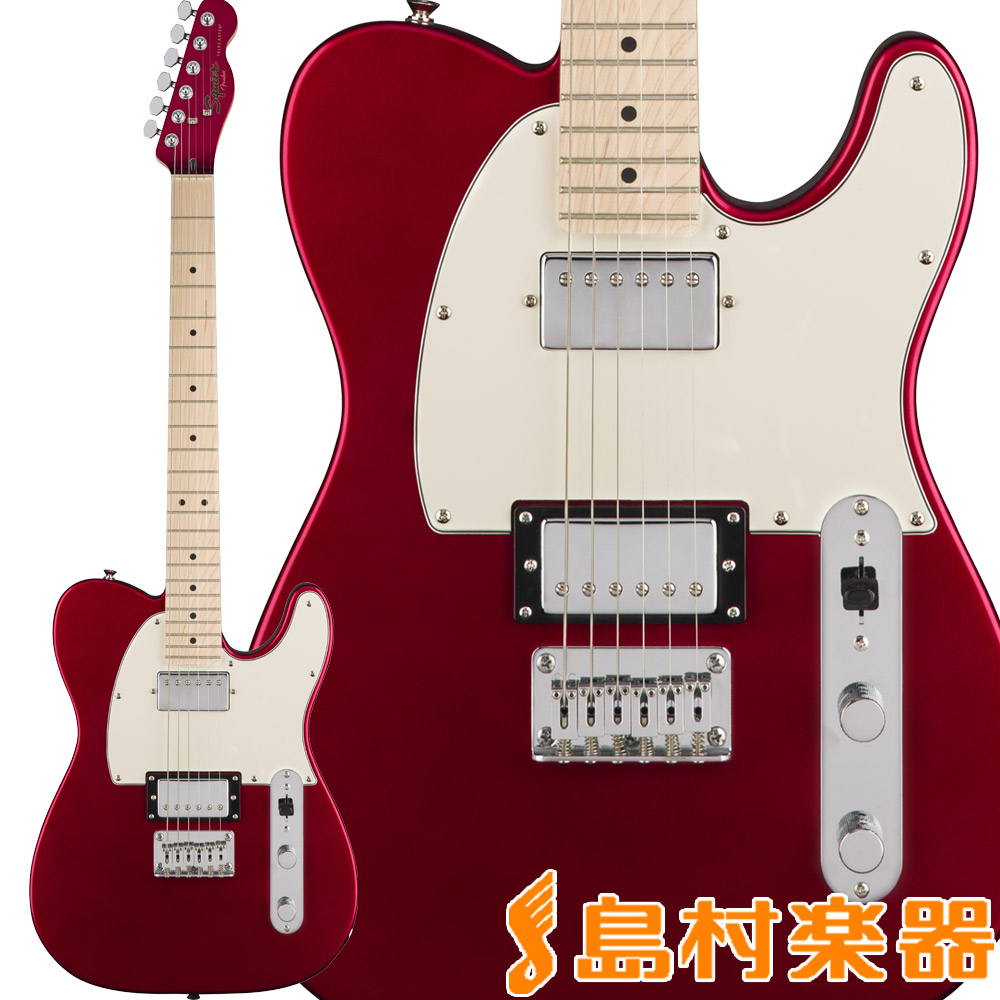 Squier by Fender Contemporary Telecaster HH, Maple Fingerboard, Dark Metallic Red テレキャスター エレキギター 【スクワイヤー / スクワイア】