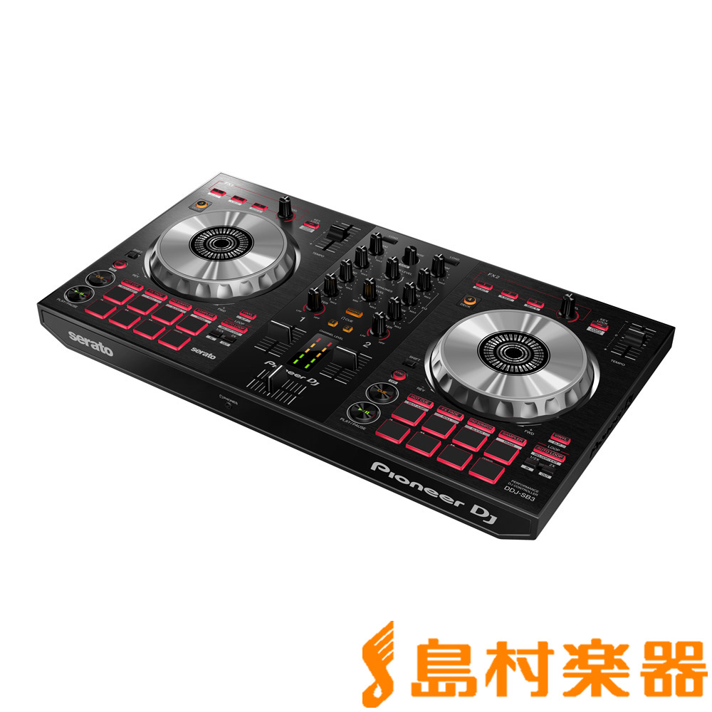Pioneer DJ DDJ-SB3 DJコントローラー [Serato DJ Lite無償ダウンロード] 【パイオニア】