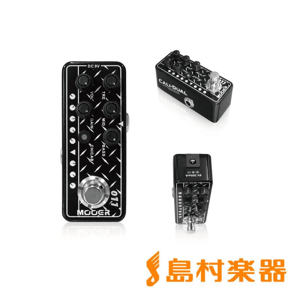 MOOER 011 Preamp Dual Micro Cali 【ムーア】 マイクロプリアンプ