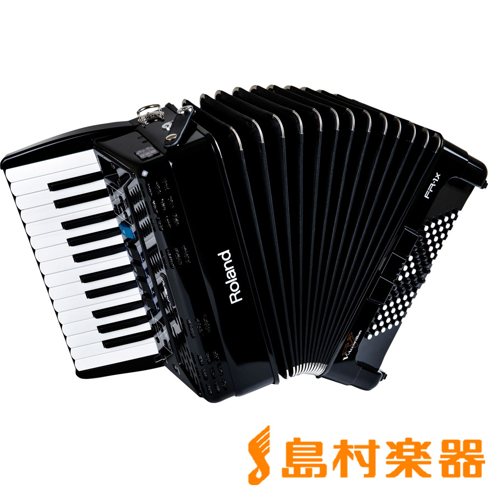 Roland V-Accordion FR-1X (ブラック) Vアコーディオン [小型 ピアノ鍵盤タイプ] 【ローランド FR1X】
