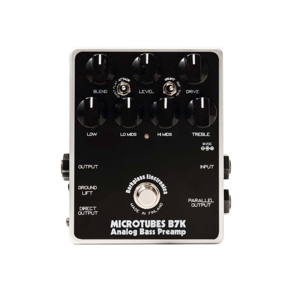 Darkglass Electronics Microtubes B7K Analog Bass Preamp ベース用プリアンプ エフェクター 【ダークグラスエレクトロニクス】【梅田ロフト店】