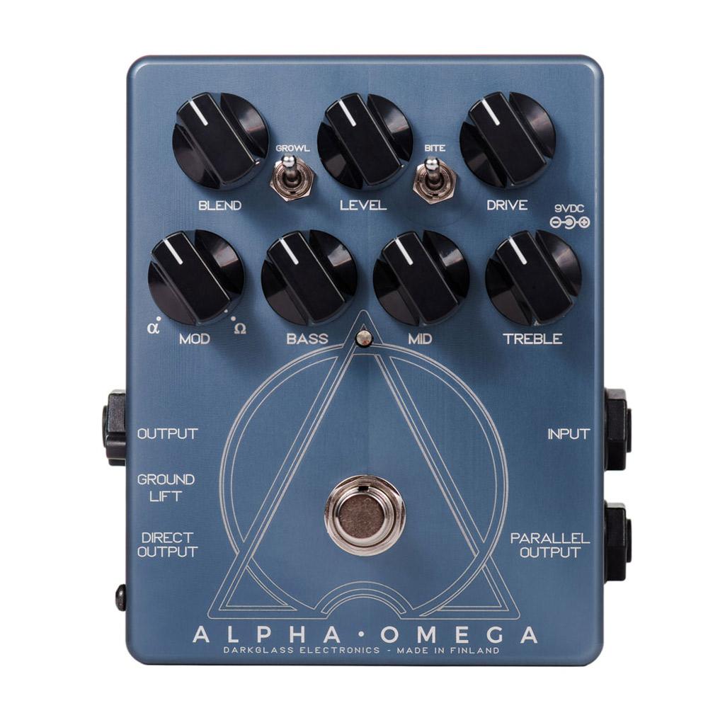 Darkglass Electronics Alpha Omega ベース用ディストーション エフェクター 【ダークグラスエレクトロニクス】【梅田ロフト店】