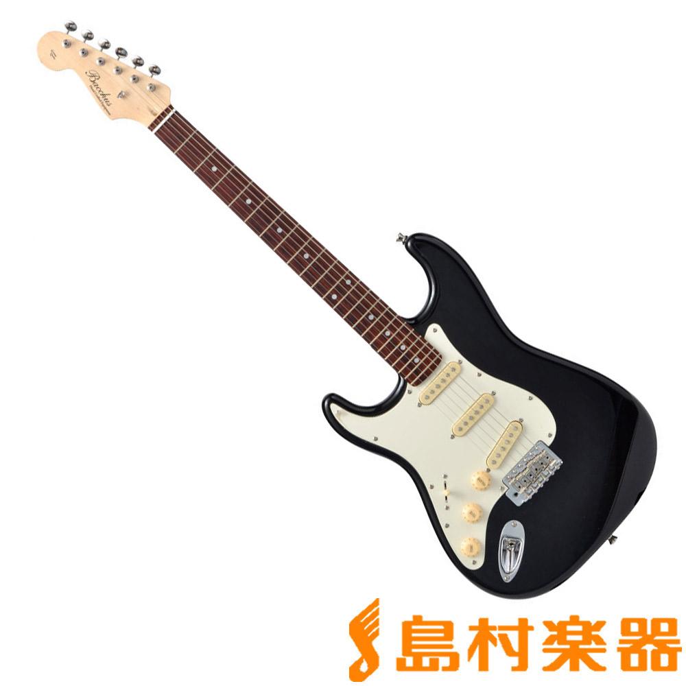 エレキギター 左利き レフトハンド BLK Bacchus 【バッカス】 BST-750/LH/R