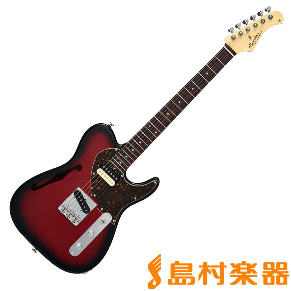 Bacchus TACTICS-HOLLOW MR B エレキギター 【バッカス】