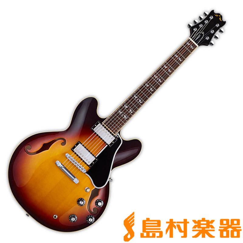 EDWARDS E-TC-7ST TSB セミアコギター 7弦 【エドワーズ】