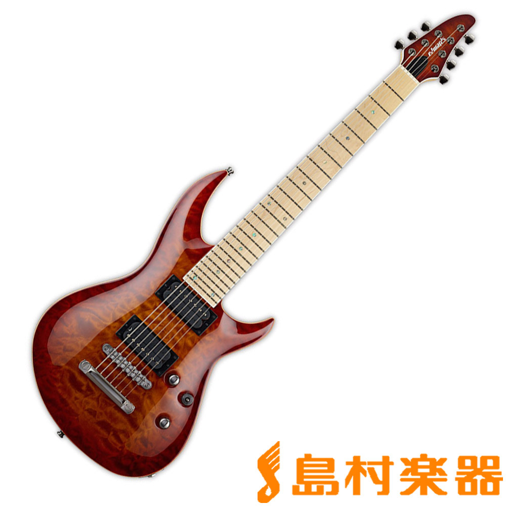 EDWARDS E-HR-III NT7 QM/M ACSB エレキギター E-HR-III NT7 QM M 【エドワーズ】