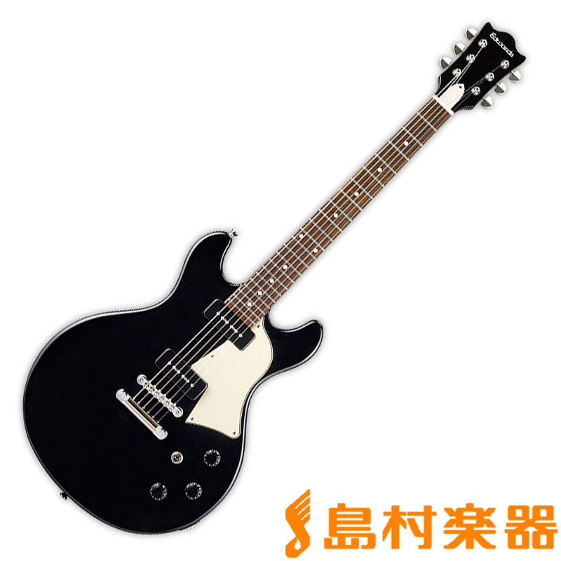 EDWARDS E-Bricoleur BK エレキギター 9mm Parabellum Bullet 菅原卓郎モデル 【エドワーズ】