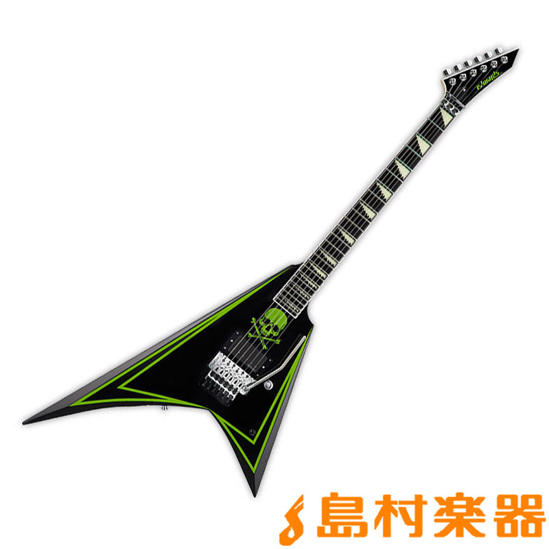 EDWARDS E-ALEXI GREENY BK エレキギター ALEXI LAIHOモデル 【エドワーズ】