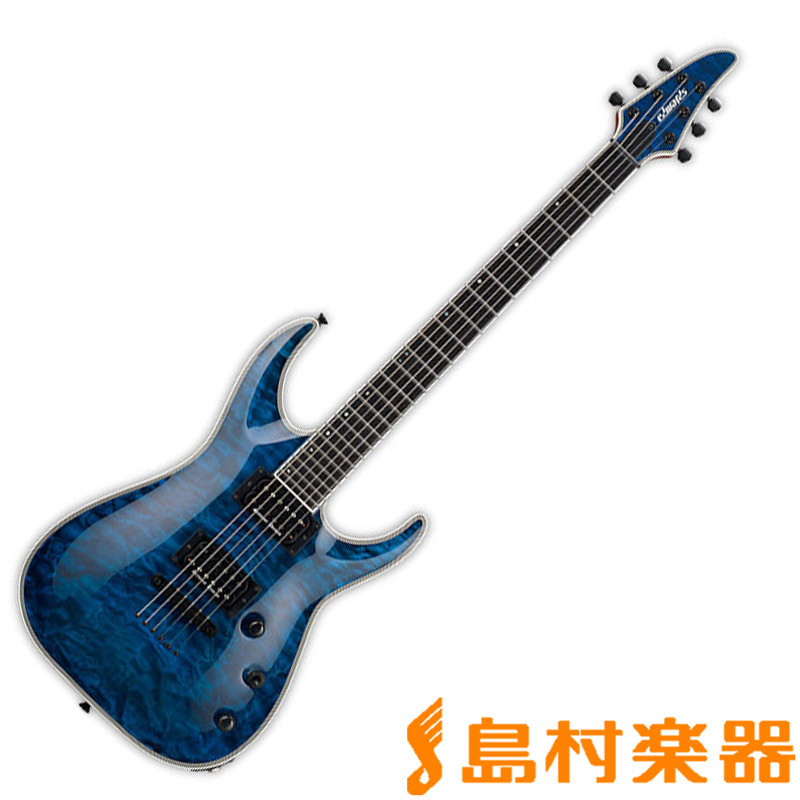 EDWARDS E-HR-145NT/QM BKAQ エレキギター 【エドワーズ】