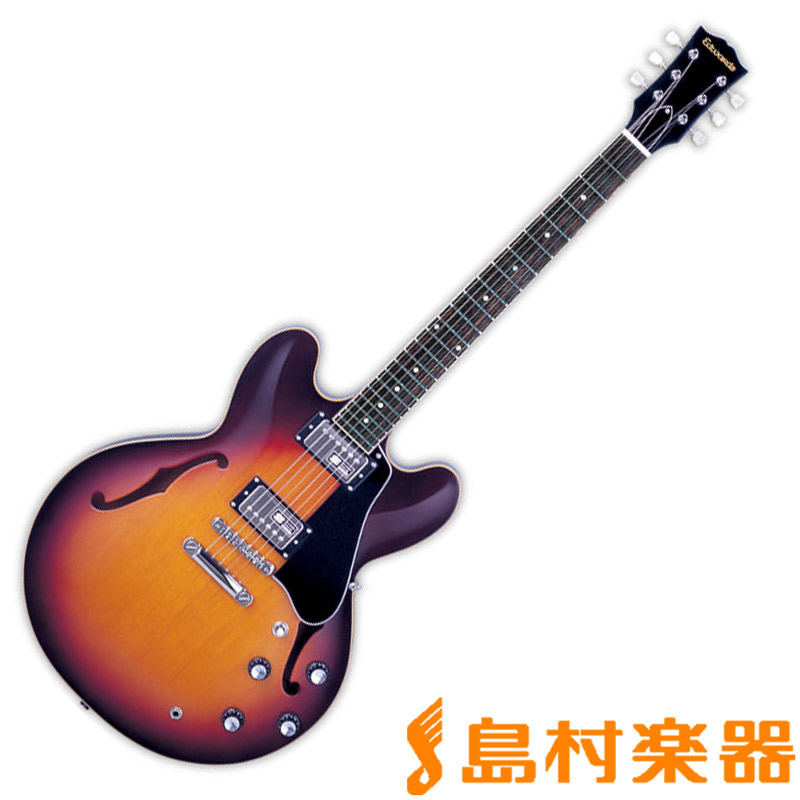 EDWARDS E-SA-160LTS TBS セミアコギター 【エドワーズ】