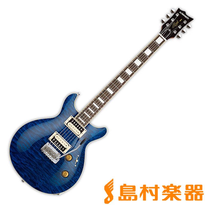 EDWARDS E-KT-135S/QM BKAQ エレキギター 【エドワーズ】