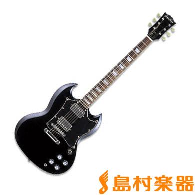 GrassRoots G-SG-55L BK エレキギター 【グラスルーツ】