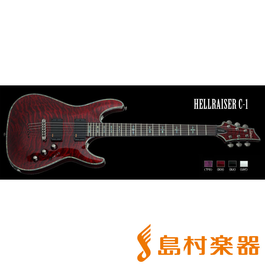 SCHECTER AD-C1-HR BCH HELLRAISER C-1 エレキギター DIAMOND SERIES 【シェクター】