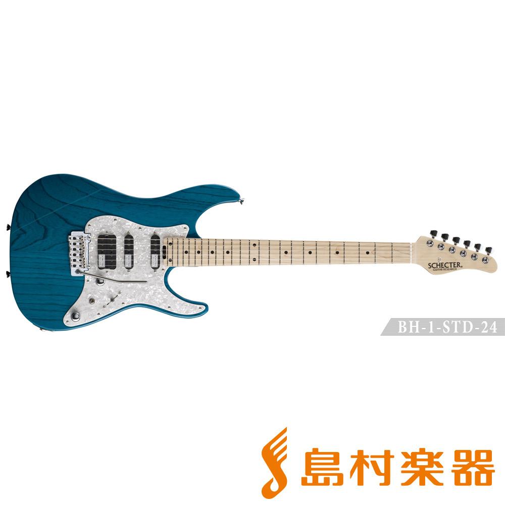 SCHECTER BH-1-STD-24F/M ILB エレキギター 【シェクター】