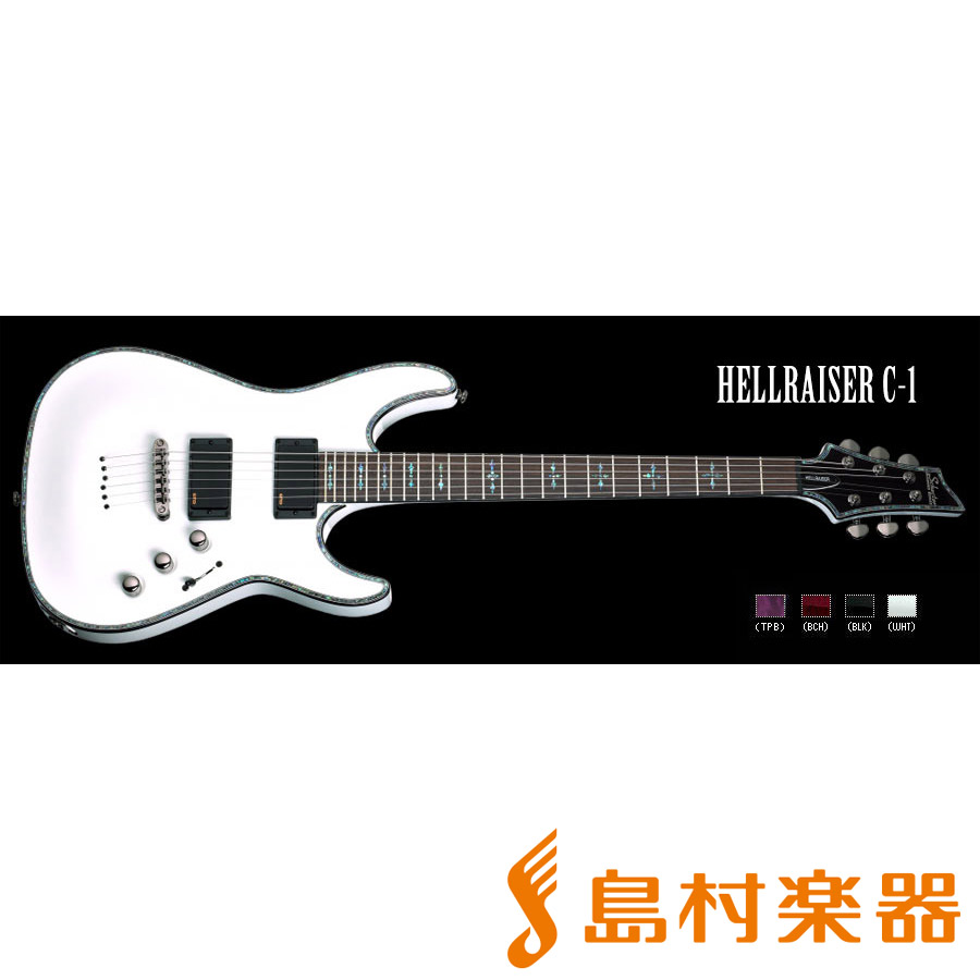 SCHECTER AD-C1-HR WH HELLRAISER C-1 エレキギター DIAMOND SERIES 【シェクター】