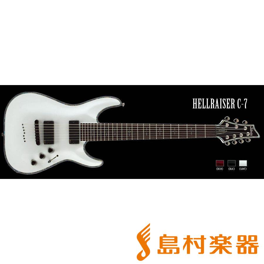 SCHECTER ADC7HR WH HELLRAISER C-7 7弦エレキギター DIAMOND SERIES 【シェクター】