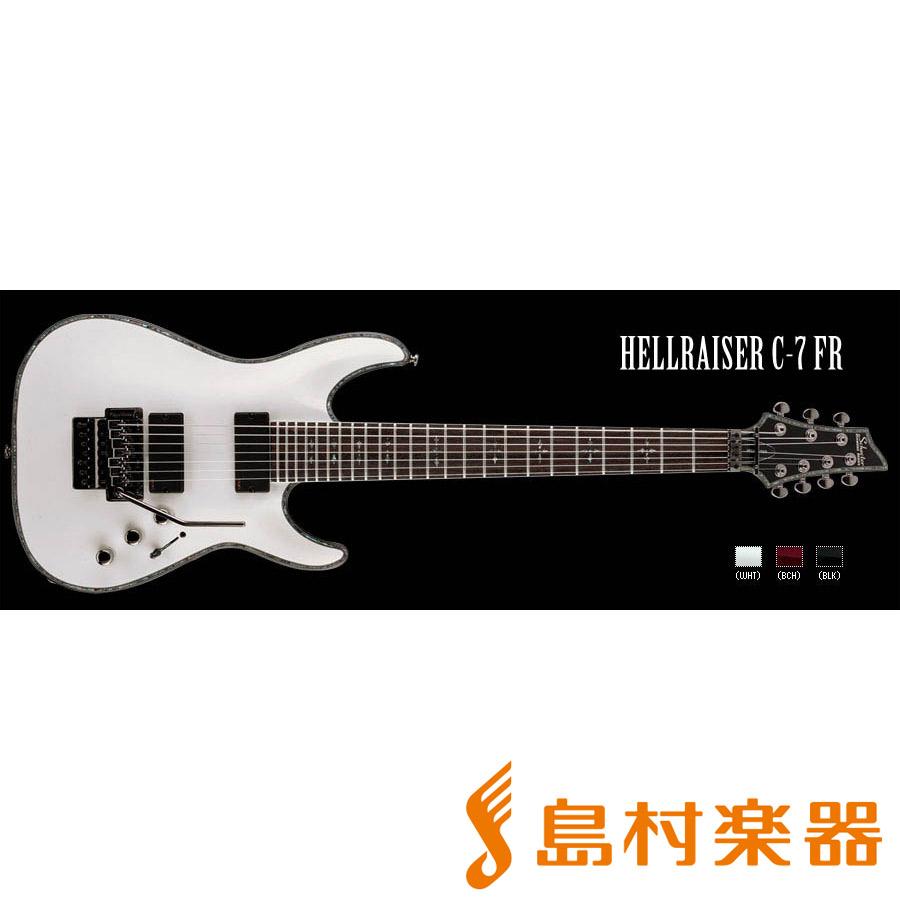 SCHECTER ADC7FRHR WH HELLRAISER C-7 FR 7弦エレキギター DIAMOND SERIES 【シェクター】