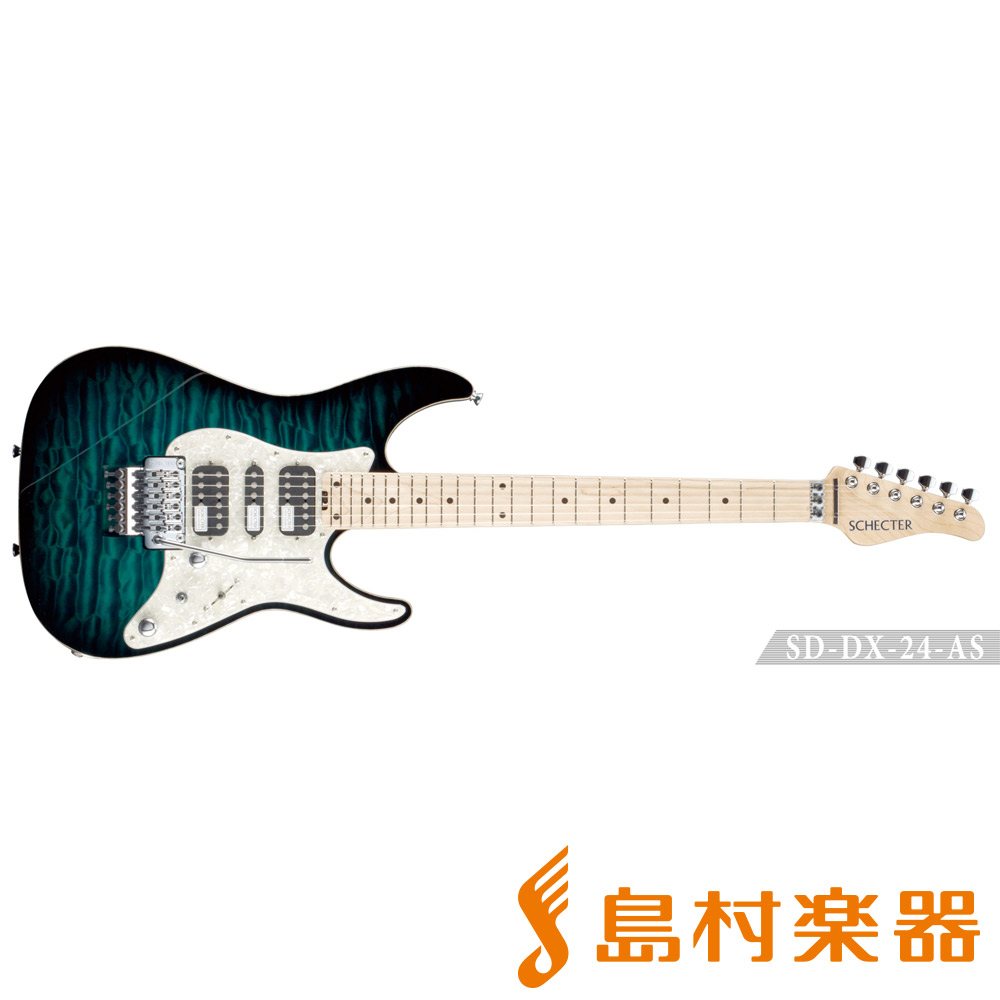 SCHECTER SD-DX-24-AS/M GRSB エレキギター 【シェクター】