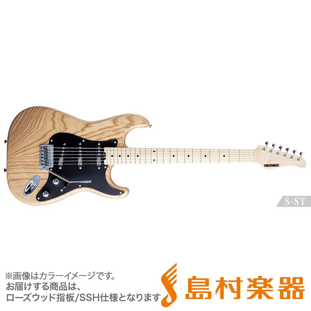 SCHECTER S-ST-4/HR VT エレキギター S SERIES 【シェクター】【受注生産 納期約7~8ヶ月 ※注文後のキャンセル不可】
