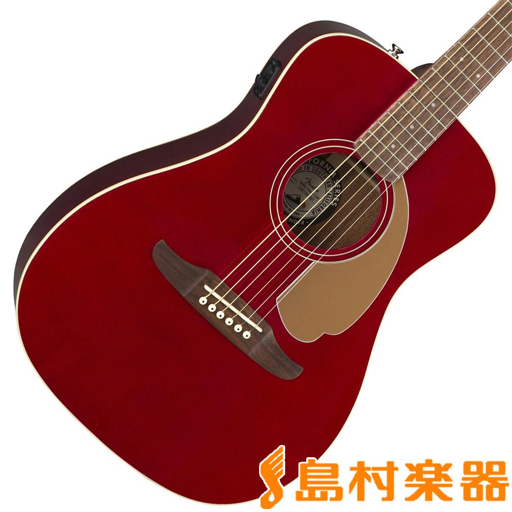Fender Malibu Player Candy Apple Red アコースティックギター エレアコ 【フェンダー】