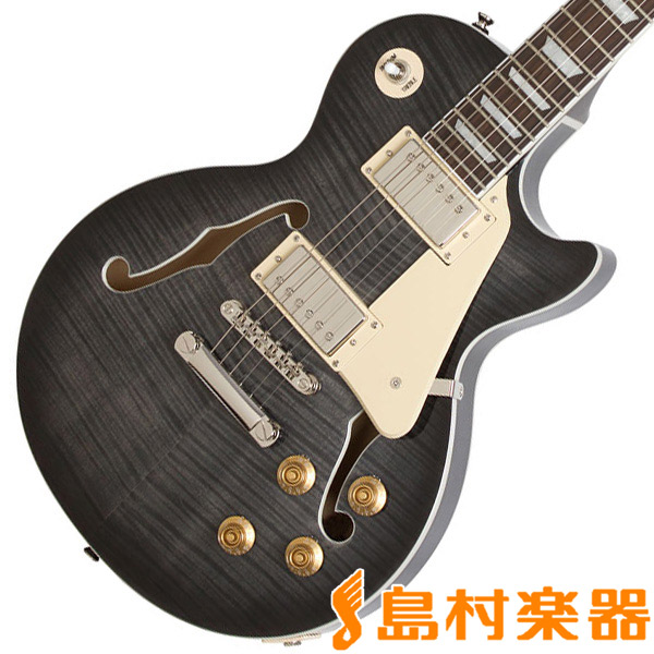 Epiphone Les Paul ES PRO Trans Black エレキギター セミアコ 【エピフォン】